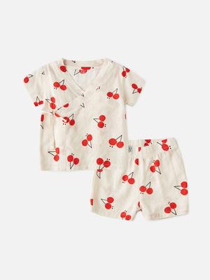 新生婴儿和尚服两件套0岁半1男宝宝2春夏裤子短袖t恤套装婴儿夏男