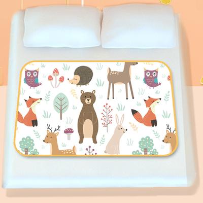 隔尿垫儿大号超大婴儿可水洗防水垫子床上宝宝秋冬隔尿床单1.8m床