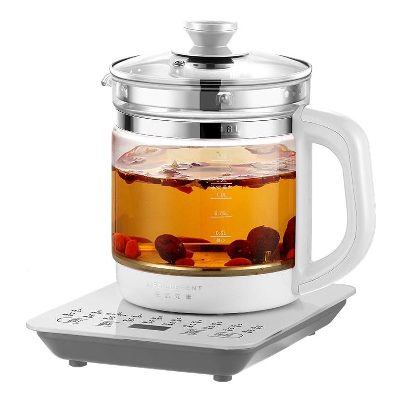 生活元素养生壶全自动加厚玻璃家用多功能煮茶器花茶壶办公室小型