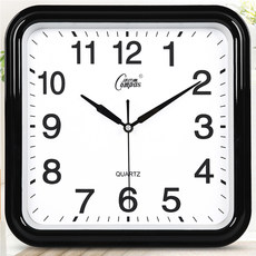 Combs clock mute wall clock living room bedroom modern minimalist atmosphere fashion wall clock clock quartz clock home