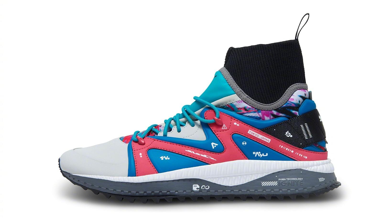 彪马推出全新联名鞋款,下月发售!