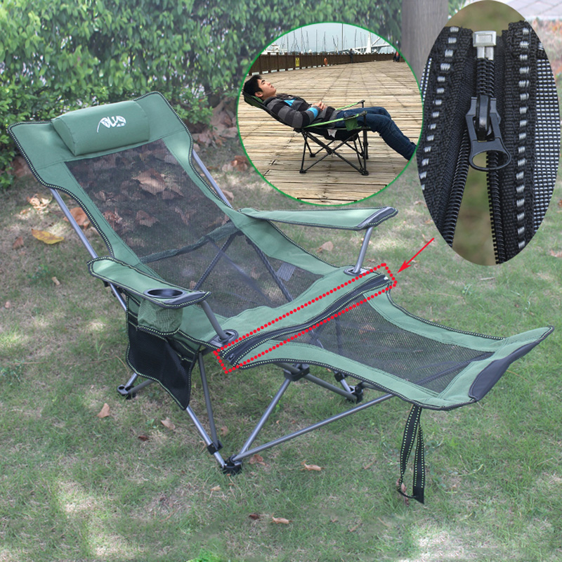 Outdoor Folding Chair Office Lunch Lounge Fishing Portable Beach Home Camping