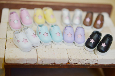 taobao agent P9 ob11 Meijie pig 12 points doll can wear baby shoes, star lazy shoes