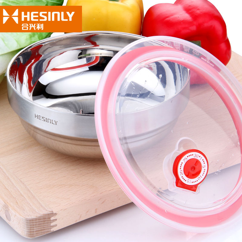 Fresh bowl lid sealing cover fresh cover household microwave heating  refrigerator round ceramic bowl silicone plastic cover