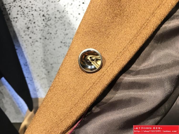 Bán thương hiệu của nam giới len + lụa lạc đà vàng của nam giới áo len giá trị không có tiêu chuẩn