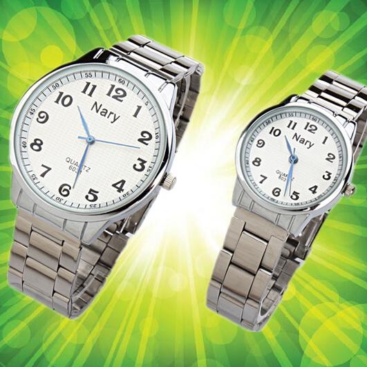 Новый большой цифровой мама и папа в пожилых наручные часы дед бабушка старики наручные часы мужской и женщины стол водонепроницаемый простой