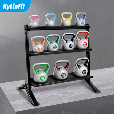 Multi-function memory bracket dumbbell frame display storage pot ringing private education studio plaster commercial fitness equipment