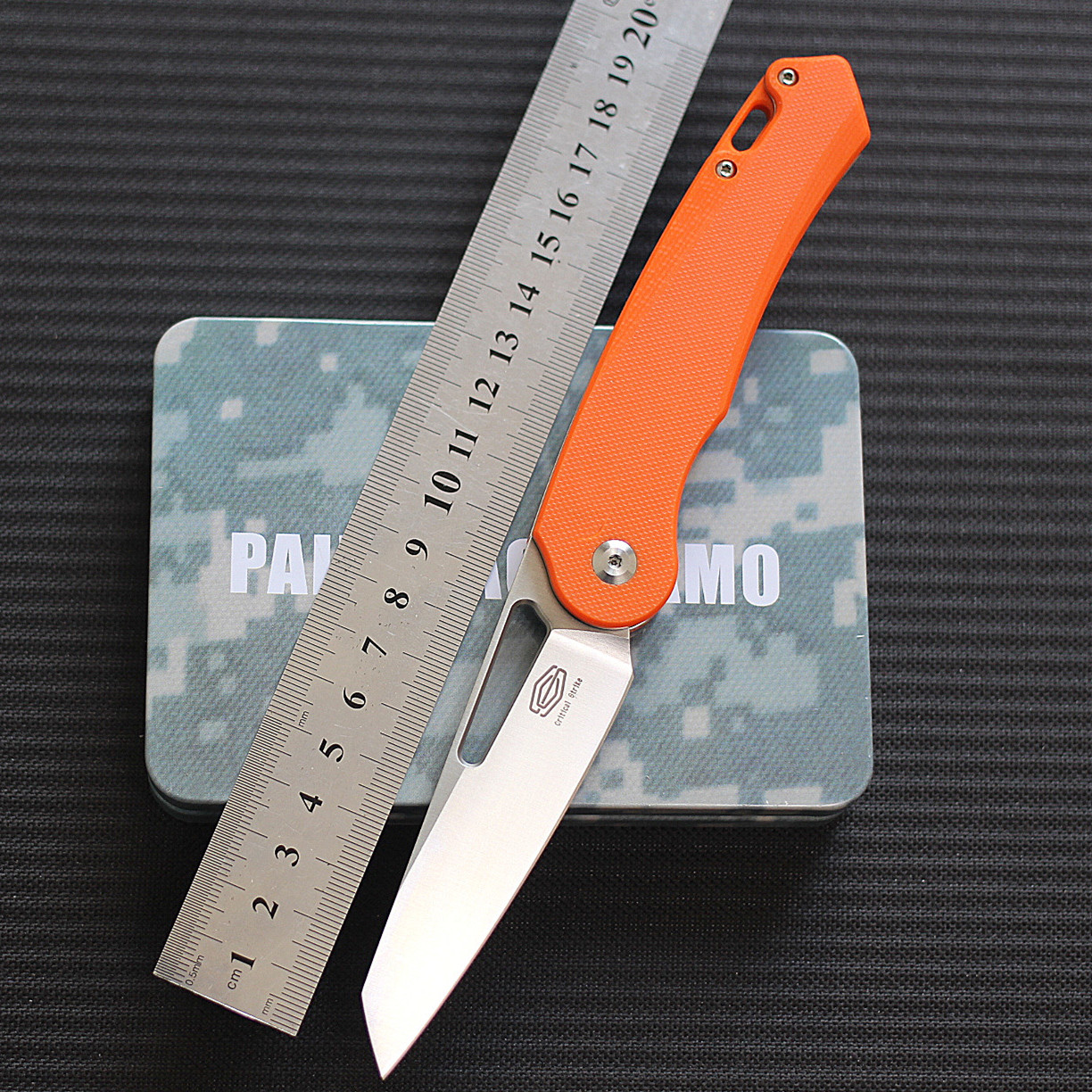Original domestic original new work CS503 bearing D2 high hardness outdoor tool knife city commuter EDC