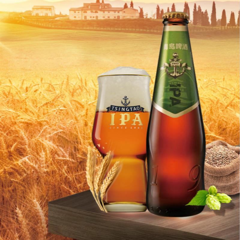 青岛IPA精酿啤酒14度330ml*12