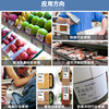 Noble blank three anti-E-mail thermal paper 30 40 50 60 70 80 100 self-adhesive label color barcode printer stickers roll tag price waterproof stickers supermarket electronic scales