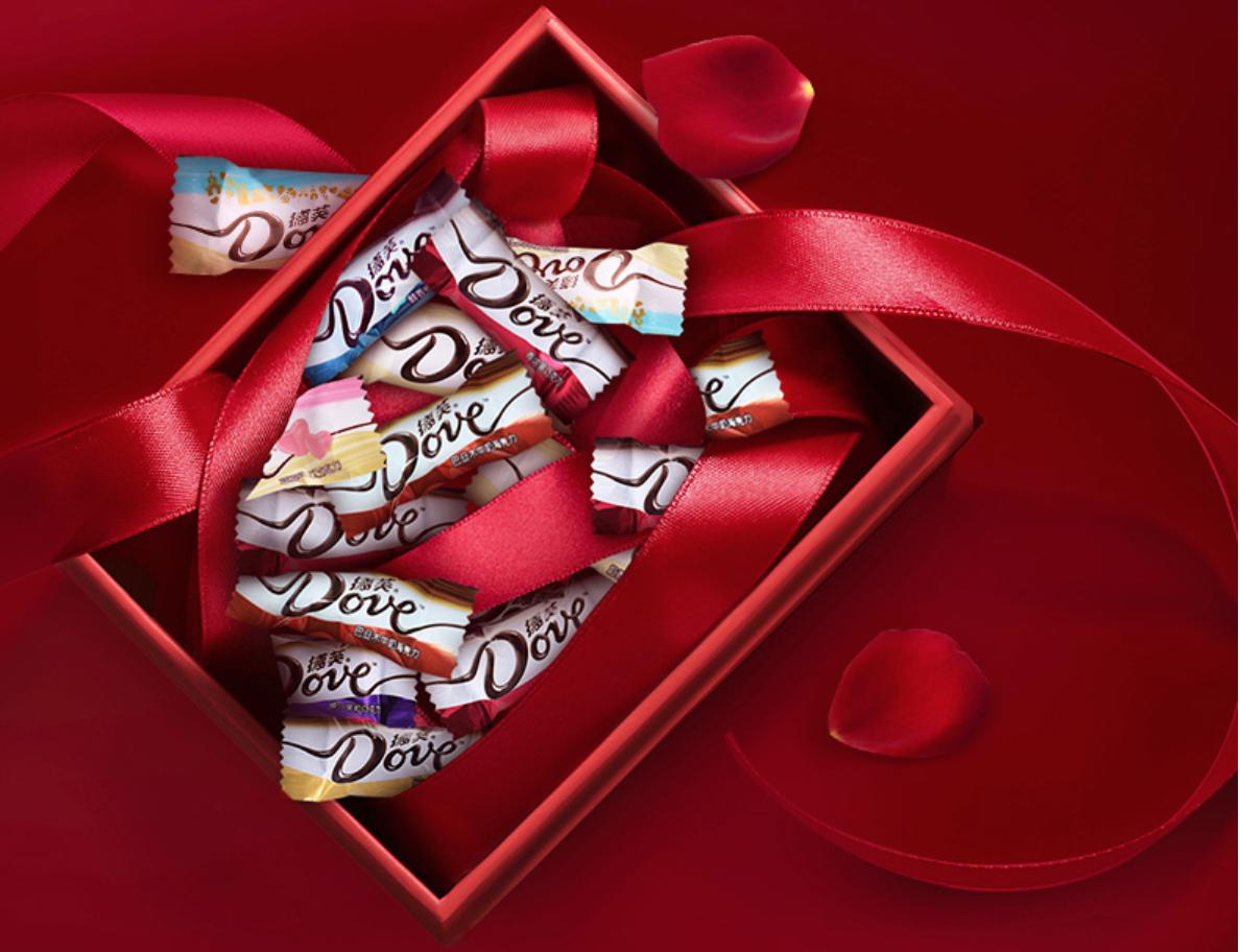 春节疯狂囤货的年糖巧克力