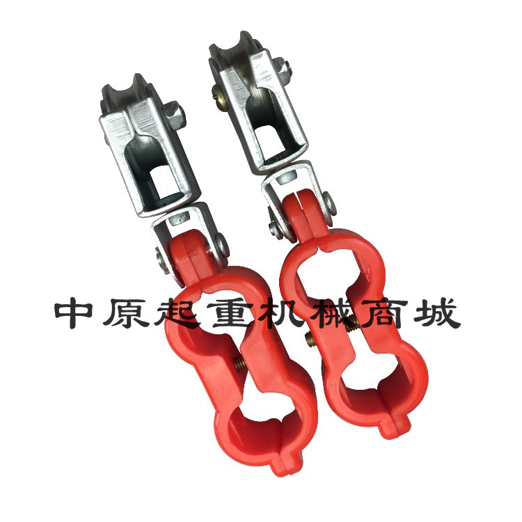 USD 4.34] Tin car plastic crane wire pulley Electric hoist red small ...