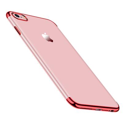 苹果6Plus手机壳透明软壳送钢化膜