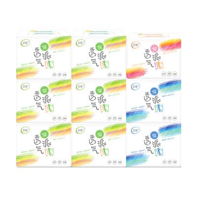 【舒莱】瞬吸透气卫生巾组合9包66片