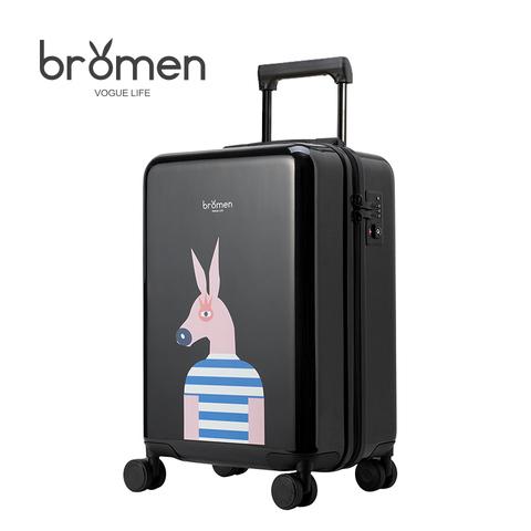 不莱玫24寸万向轮卡通拉杆箱网红行李箱女20登机箱韩版密码旅行箱