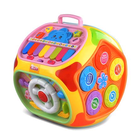 早教儿童益智0-1-2-3-4岁男孩玩具声光音乐女孩婴儿宝宝智力玩具