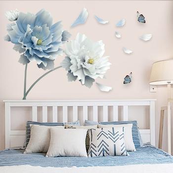 Гостиная телевидение фон стена водонепроницаемый наклейки спальня комната декоративный наклейка стена бумага обои самоклеящийся 3D трехмерный наклейки для стен, цена 256 руб
