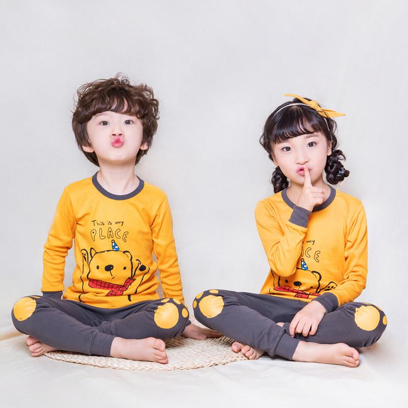 【史努比】儿童秋衣保暖内衣套装