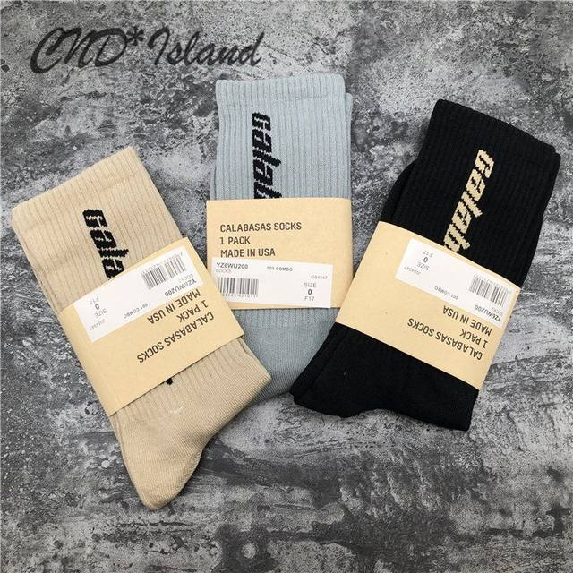 Calabasas season socks