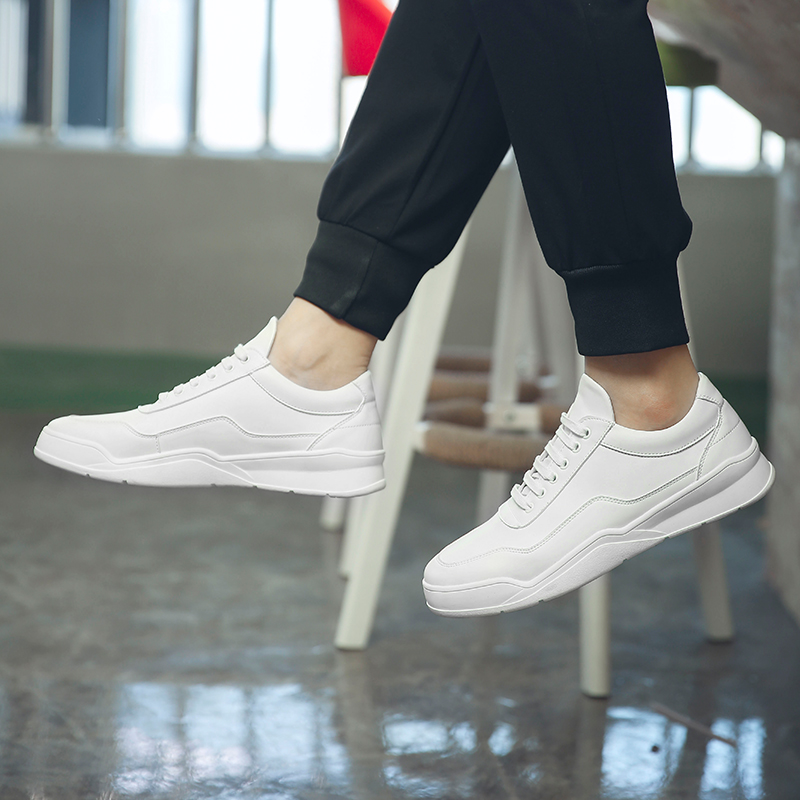 small white shoes men's casual shoes