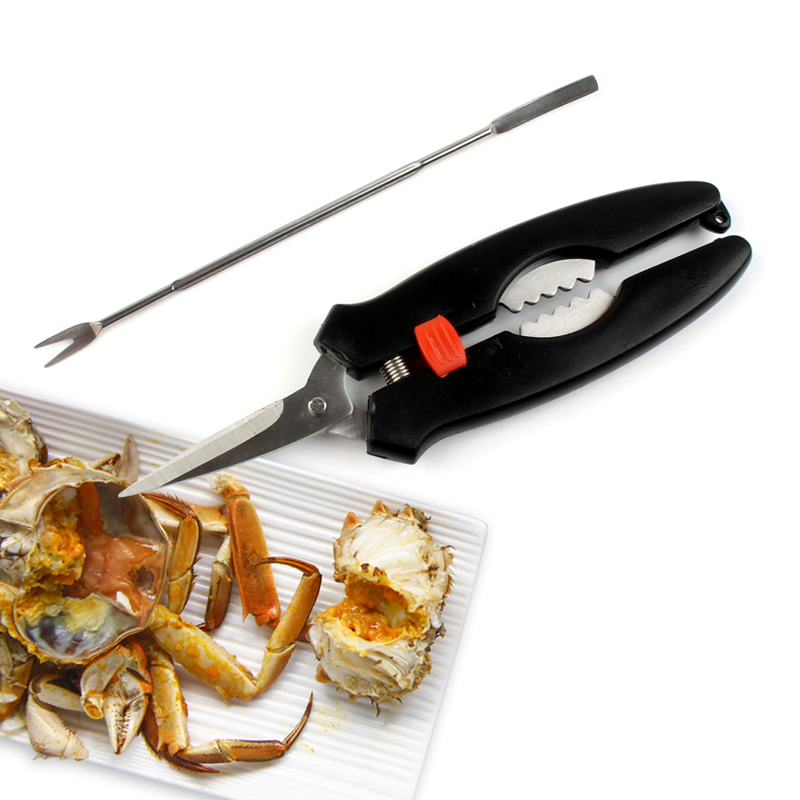 special scissors lobster,similar seafood and shellfish tool for eating crab