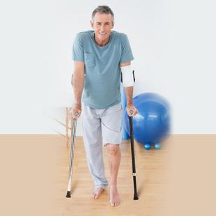 手臂肘拐杖腋下双拐防滑医用拐杖