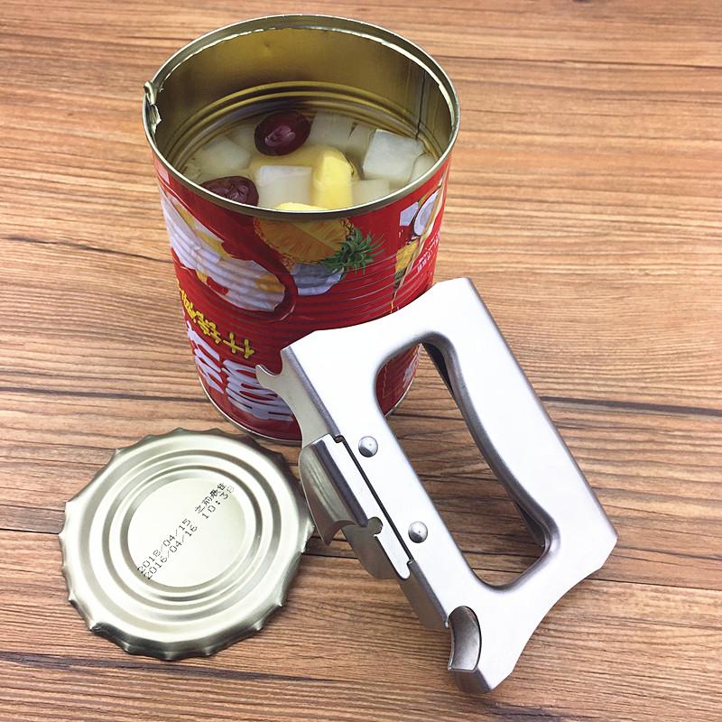 Открыто бак глава устройство многофункциональный открывалка нержавеющей стали бак глава начало сын железо бак нож пиво бутылка открыто инструмент артефакт