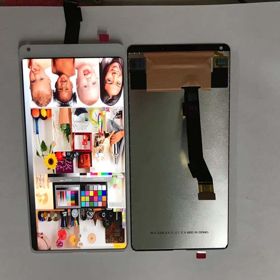 液晶盖板mix2一体总成mix2s触摸显示小米内外玻璃手写屏幕原装屏