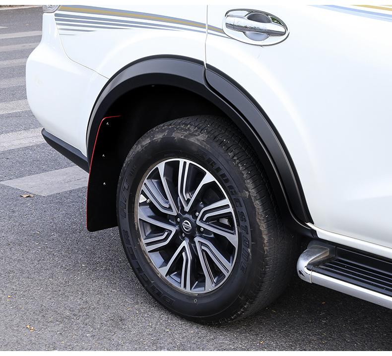 Viền cua lốp Nissan Terra 2018 - 2020 - ảnh 18
