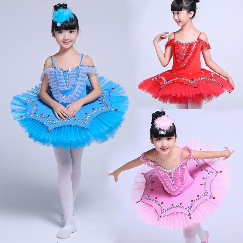 d666fee27 2017 New Arrival Children Ballet Tutu Dress Swan Lake Multicolor ...