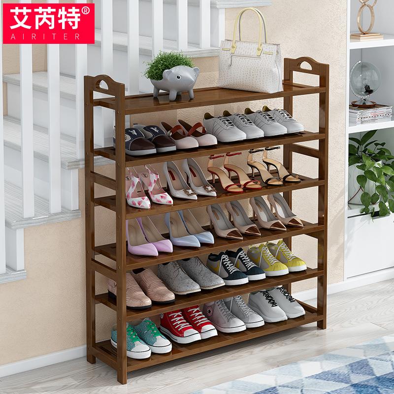 Kệ giày đơn giản cửa nhà ký túc xá chống bụi kinh tế lưu trữ tạo tác nhiều lớp giá tủ giày tiết kiệm không gian - Kệ
