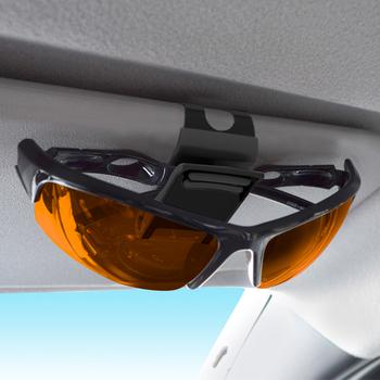 YAC автомобиль многофункциональный очки клип автомобиль использование металл очки полка глаз клип творческий карта клип законопроект клип, цена 858 руб