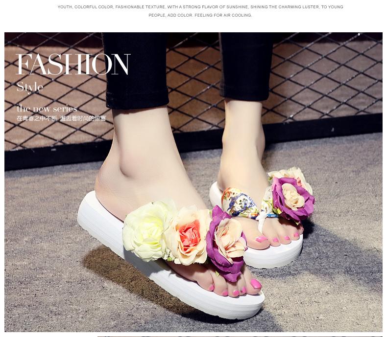 Hoa dép dép dép mô hình phụ nữ ở khu nghỉ mát bên bờ biển với giày dép dép mùa hè triều trượt giày