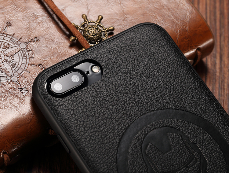 X-Doria Marvel Avenger Wise 3D PU Leather Case Cover for Apple iPhone 7 Plus & iPhone 7