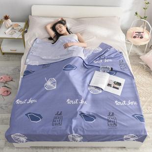 便携纯棉隔脏旅行床单睡袋