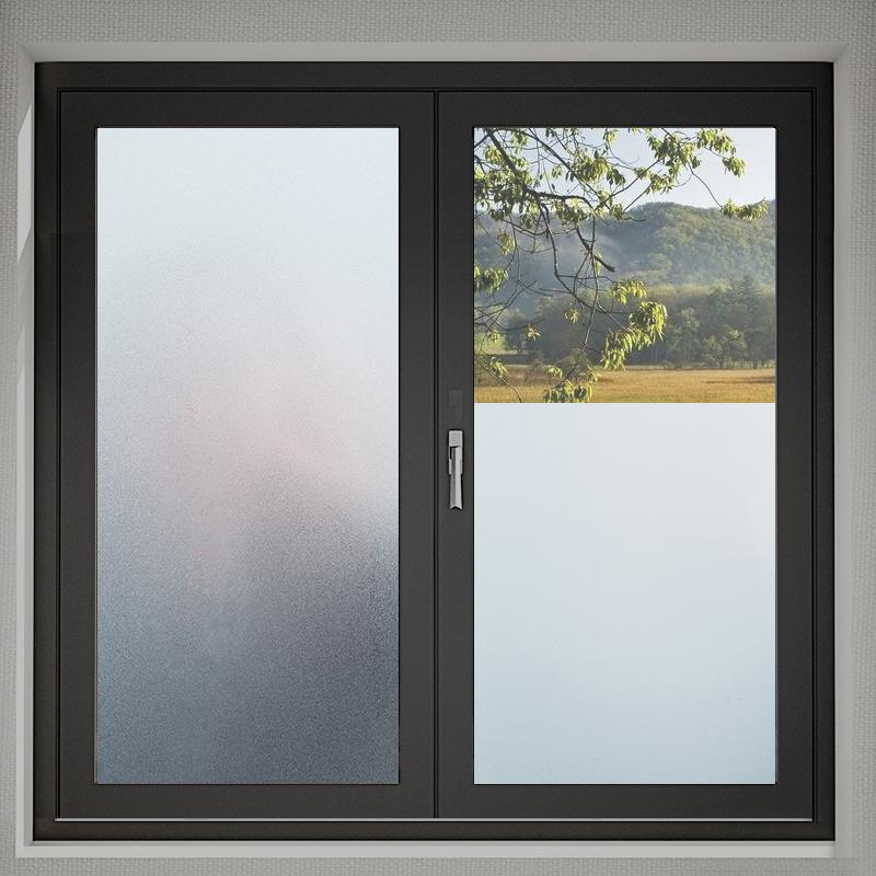 窗户磨砂玻璃贴纸透光不透明卫生间浴室防窥遮光贴膜窗花纸防走光