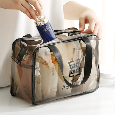 Cosmetic bag 2020 new INS style ultrafire waterproof portable female travel massive wash package storage bag box