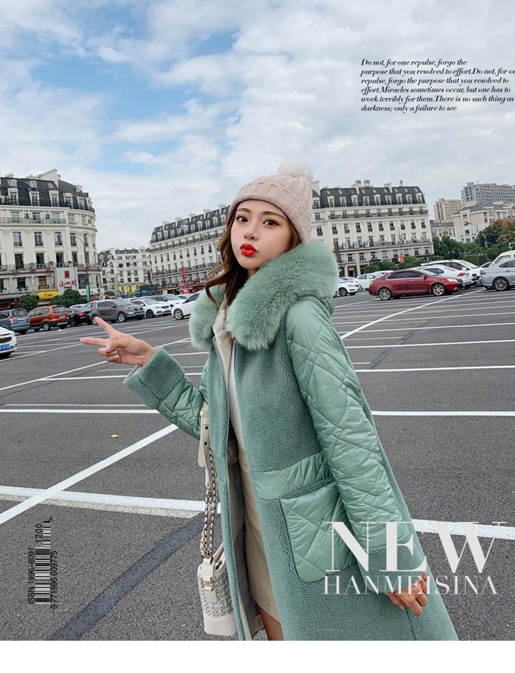Deep degree 2020 autumn dress new large size women's autumn fashion luxury fur all-in-one jacket 9V9 41 Online shopping Bangladesh