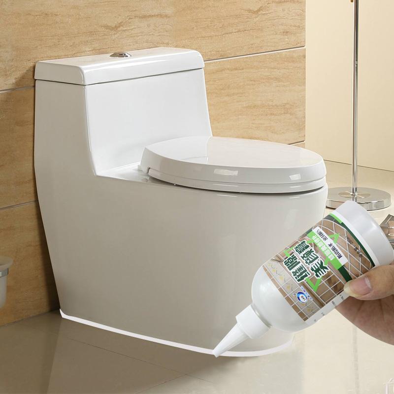 Наклейки для туалета В туалет основанием, прикрепленным к туалету вокруг патч щели грязь, проставленный на плинтусе в углу щель полосу ванная комната водонепроницаемый плесени
