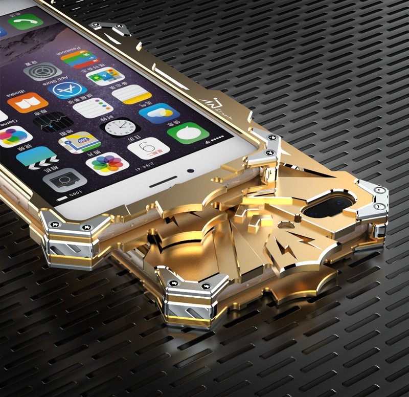 SIMON THOR Aviation Aluminum Alloy Shockproof Armor Metal Case Cover for Apple iPhone  7 Plus & iPhone 7