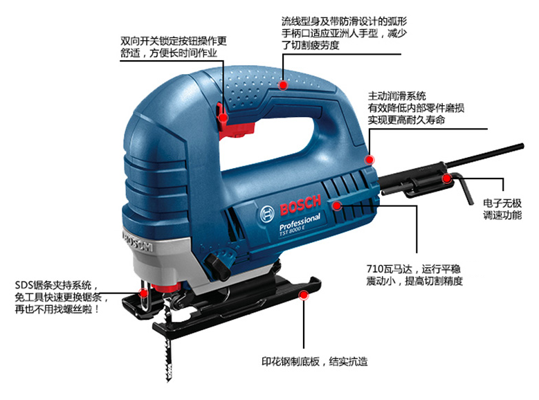 USD 133.13] BOSCH Bosch power tools curve woodworking saws Electric ...