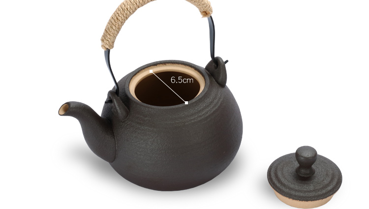 Electric TaoLu home cooked tea kettle ltd. new ceramic black pottery use under high temperature resistant tea tea stove base