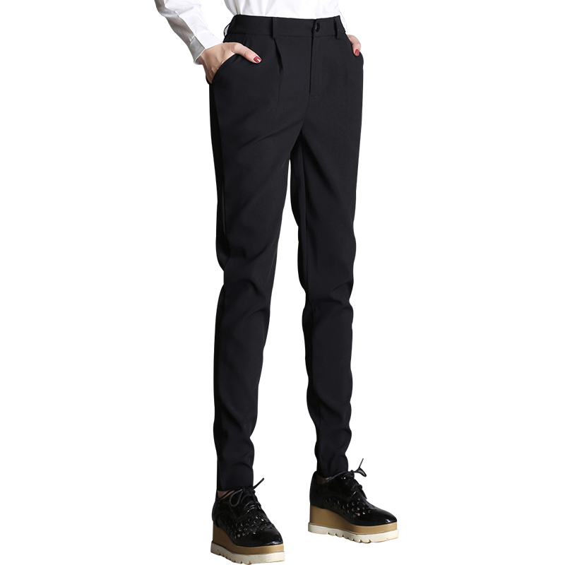64fe8ade995f USD 38.88  Casual trousers female spring and summer work nine points ...