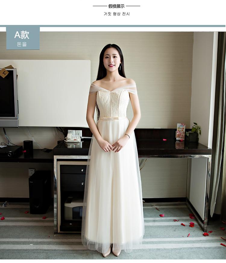 香槟色伴娘团礼服 - 1505147909 - 太阳的博客