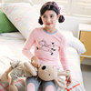 Girls Thermal underwear Set Cotton Sweater Girls Pajamas Children's Qiuyi Qiuku sets Cotton children's clothing