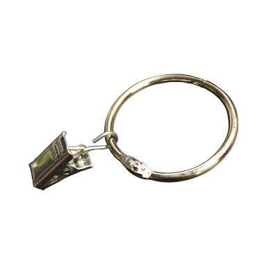 | Цена 439 руб | , Круг окно Крючок для штор с застежкой Кольцо открывающее бытовое утепленный Кольцевая фурнитура клипса тканевая, кольцо, стержень большой прочности