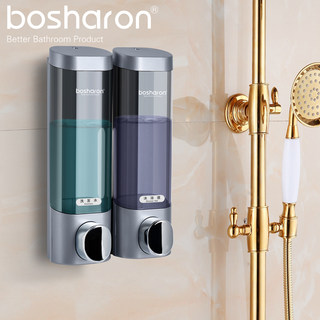 Punch free soap dispenser hand sanitizer press bottle Hotel shampoo shower gel box wall mounted household wall