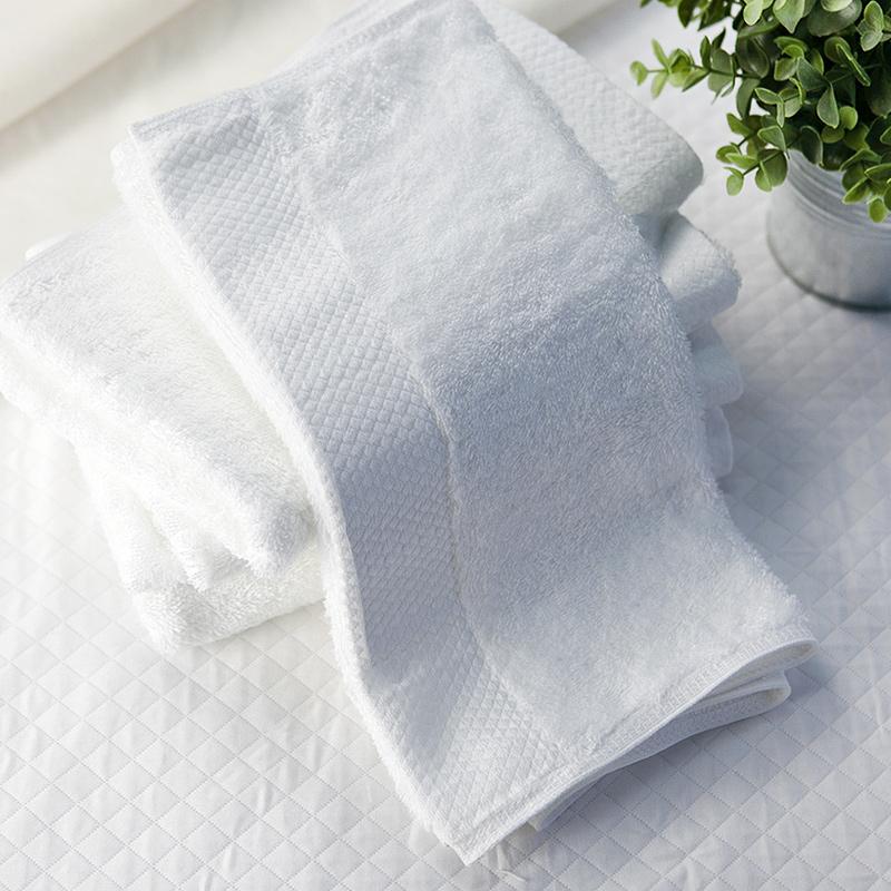 外贸毛巾 高档纯棉全棉毛巾面巾白色毛巾柔软吸水150克加厚不掉毛