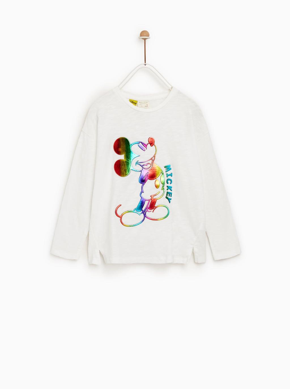 September Zara Genuine Domestic Purchasing Girls Printed T Shirt