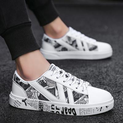 2019春季帆布鞋新款布鞋男潮流学生百搭运动休闲鞋男士板鞋棉鞋子